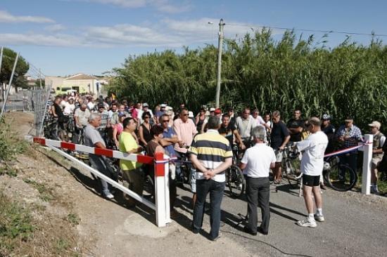 Inauguration voie promenade cyclable