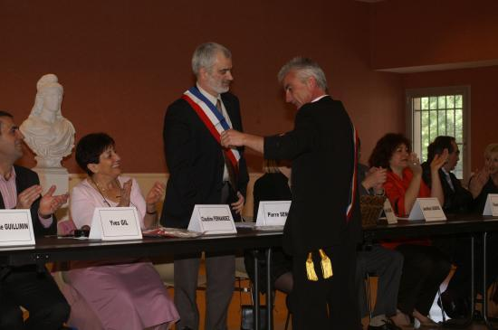Pierre Sémat Investiture 2008