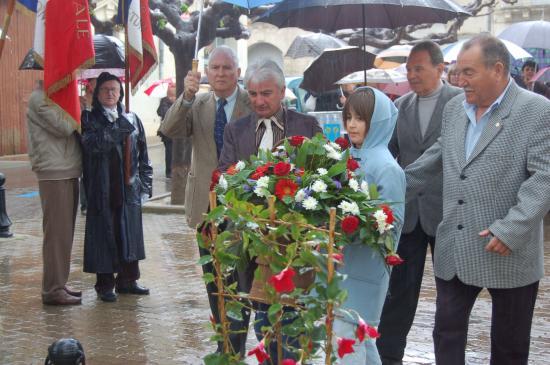 Cérémonie 8 mai 2010