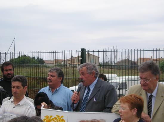 Inauguration des Arènes