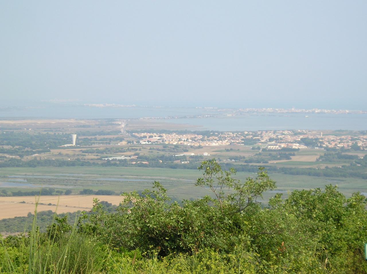 Villeneuve vue de Saint Baudile