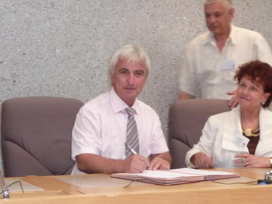 22 juin 2010 signatureCharte Agenda 21