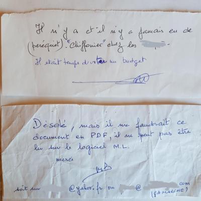 Exemplaire signature baquet 2